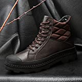 Help puymartin boots and shoes high boots Bangnan winter warm cashmere,41 brown A