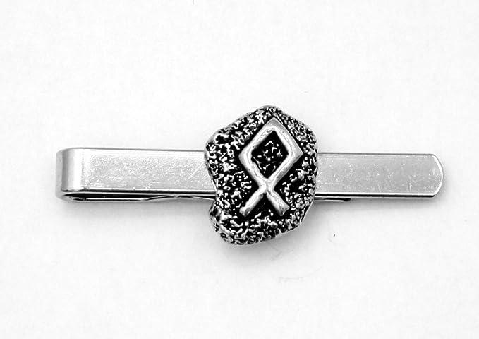 Viking runa del hogar (othala) Clip de corbata (slide), hecho a ...