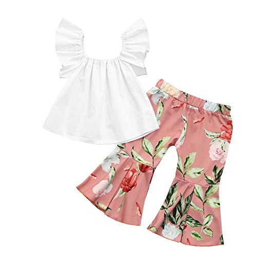 6a4934d09eafd Amazon.com  JPOQW 1-5T Kid Girls Outifts
