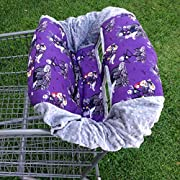 Shopping Cart Cover- Jack Skellington/ Grey