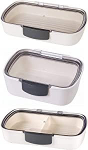Prepworks ProKeeper Air Tight Sealed Food Storage Container 3 Piece Set