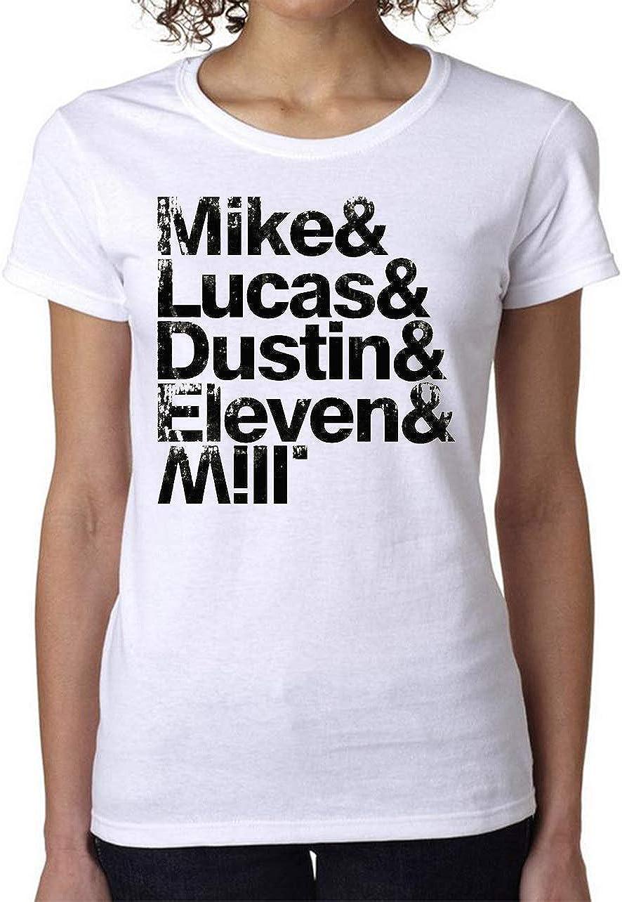 PasTomka Mike Lucas Dustin Eleven Mill Womens T-Shirt ...