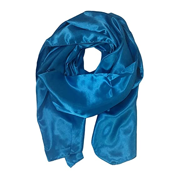 Clothing Honfon Womens Solid Color Satin Pashmina Shawl for Party Wedding Prom Women