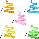 Smartlife15 10 Colors Gymnastic Dance Ribbon