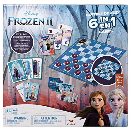 Disney Frozen 2 6-in-1 Game House for Kids & Families