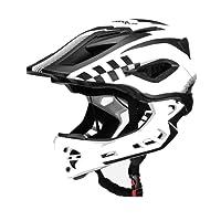 ROCKBROS Bicicleta Casco Integral Casco Downhill – Casco Infantil de Bicicleta, 54 – 58 cm
