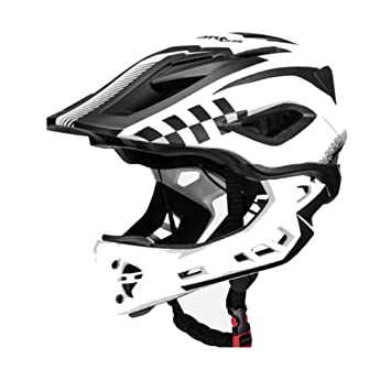 Casco de bicicleta ROCKBROS, casco integral para bici, casco para downhill, casco infantil