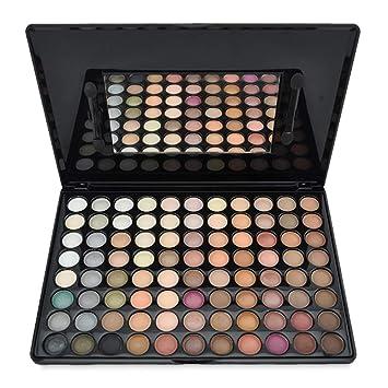 PhantomSky 88 Colores Sombra De Ojos Paleta de Maquillaje Cosmética #1 - Perfecto para Uso Profesional y Diario