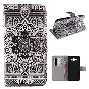 E5 Case,Samsung Galaxy E5 Case,Galaxy E5 Case,Samsung Galaxy E5 Leather Case,Galaxy E5 Wallet Case,Samsung Galaxy E5 Case Cover,Creativecase beautiful pattern Pu leather and wallet with Credit ID Card design Galaxy E5 Case Cover for Samsung Galaxy E5#09