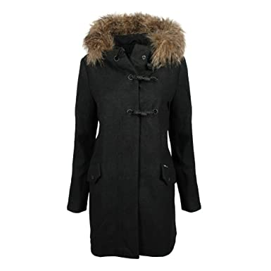 Khujo Damen Winter Stepp Jacke WINSEN 3 warm gefüttert mit Kapuze 1105JK183 | eBay