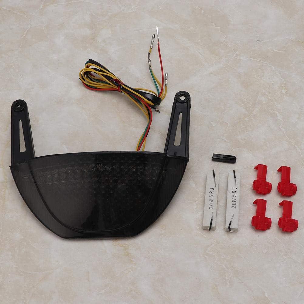 Aramox Tail Light,LED Integrated Tail Brake Turn Signal Light Fit for CBR600RR 2007-2012