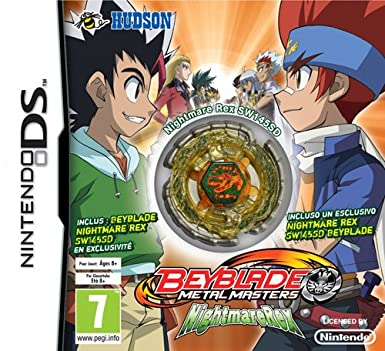 Beyblade Metal Masters Nightmare Rex Kreisel Amazon De Games