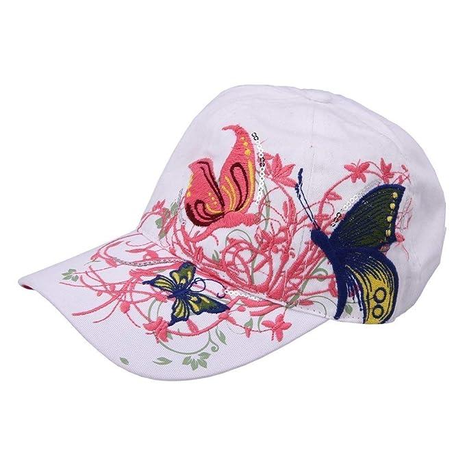 Gorros Gorra De Béisbol Moda Para Mujer Floral Mariposa Gorra De Fiesta Estilo: Amazon.es: Ropa y accesorios