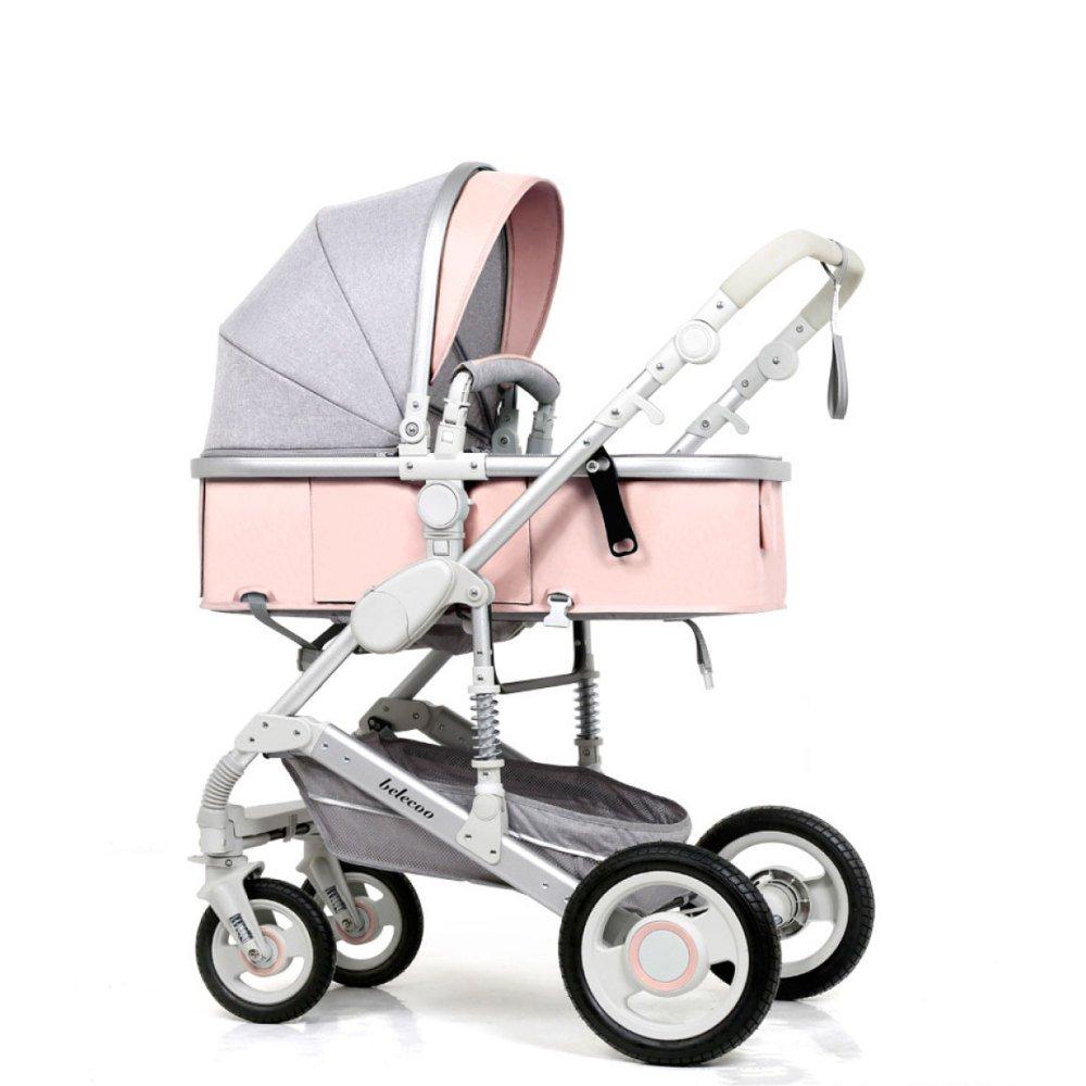 Cochecito De Bebé Portátil En Un Paisaje Plegable Cochecito De Bebé De Aluminio Aluminio Ultra Ligero Puede Sentarse Mentira Carro De Bebé Sistema De ...