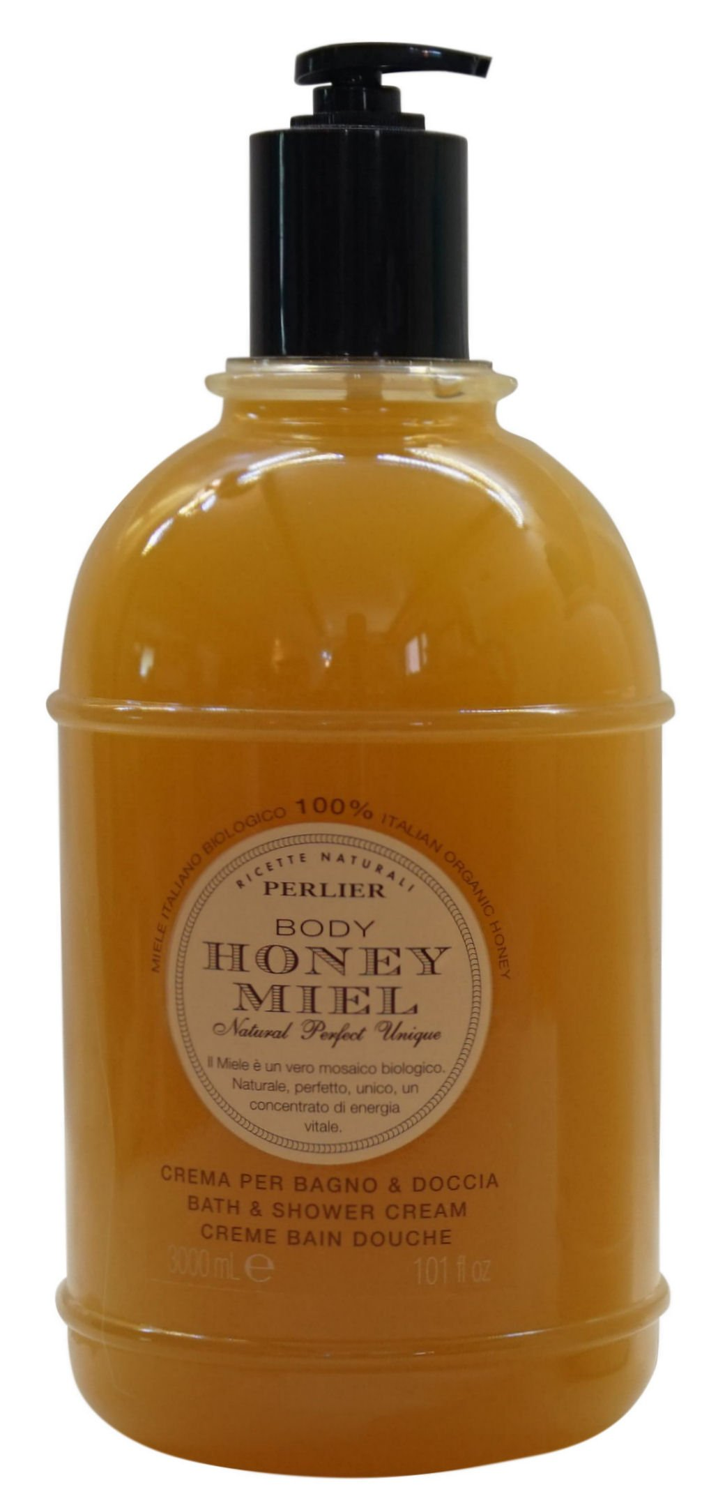 Perlier Honey Bath & Shower Cream (101 oz.)