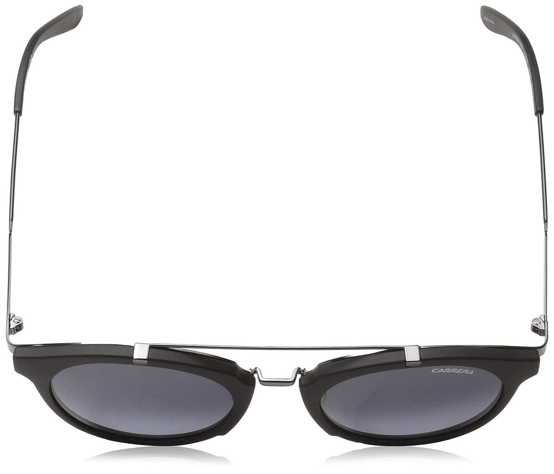 ab7f583325 Amazon.com  Carrera Men s Ca126s Round Sunglasses Black Dark Ruthenium gray  Gradient 49 mm  Clothing