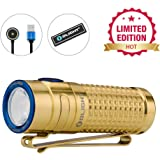 Olight S1R II 1000 lumens High Performance Neutral White LED Magnetic USB Rechargeable Limited Edition Titanium