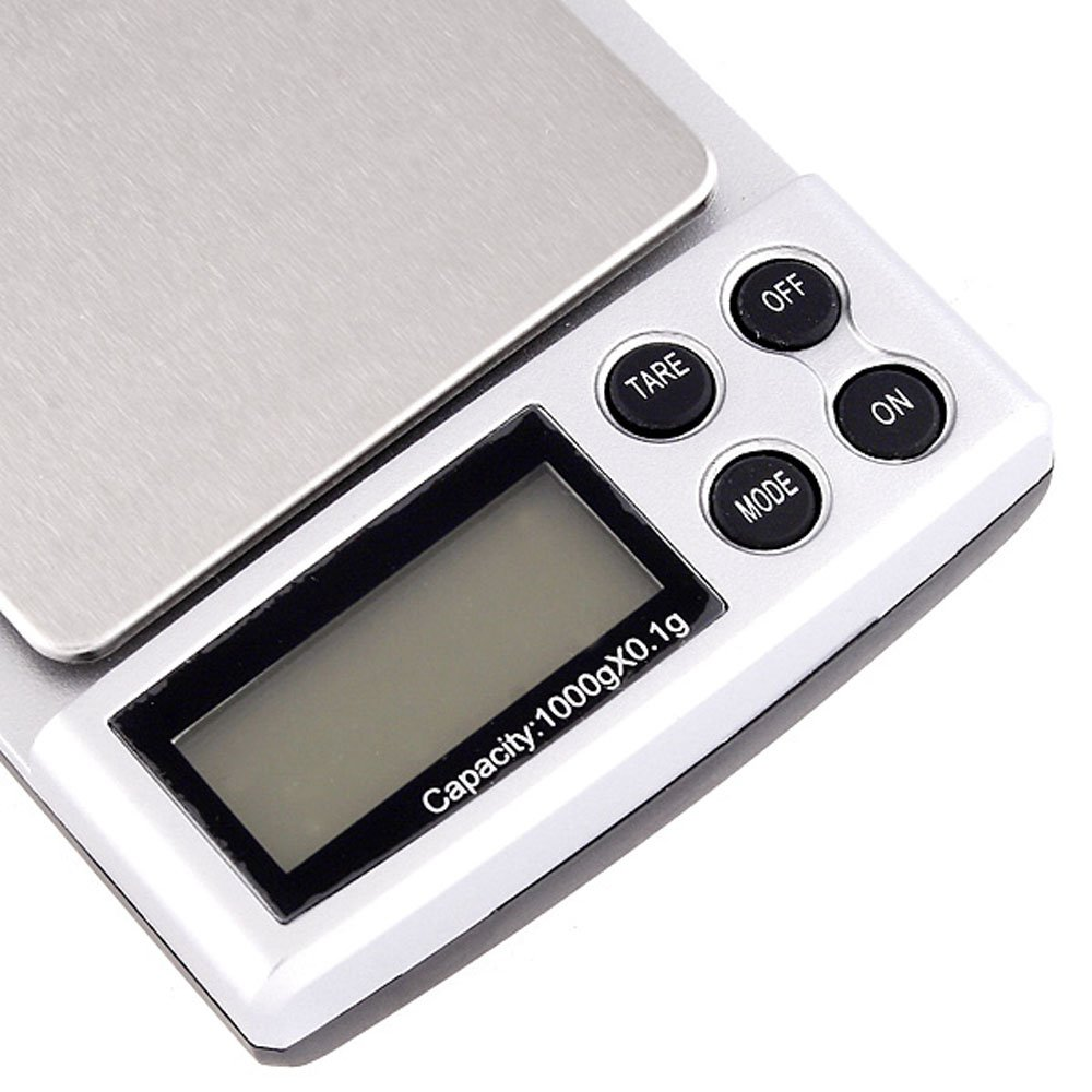 Amazon.com: Trudged(TM) 1000g x 0.1g balanzas digitales bascula digital Mini Digital Scale Precision Balance balanza precision Weight Weighing Scale: ...