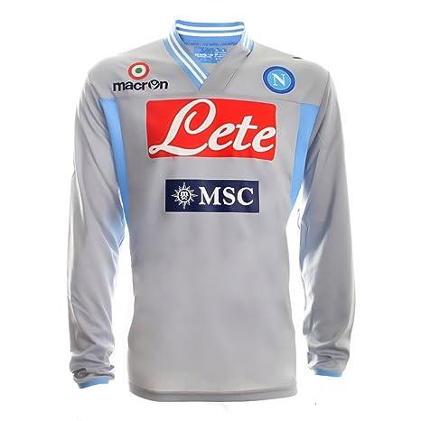 Macron Napoli Camiseta de Portero l s 2012 13 S 9eabb9f89fe01