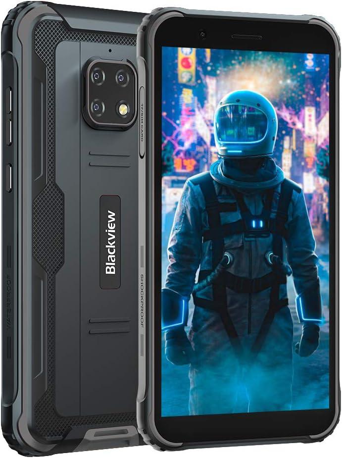 Móvil Resistente 4G, Blackview BV4900 Android 10 Impermeable Smartphone IP68, 5.7