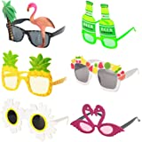Ocean Line Novelty Party Sunglasses - 6 Pairs Creative Funny Eyewear, Luau Tropical Party, Fancy Dress Party Supply…
