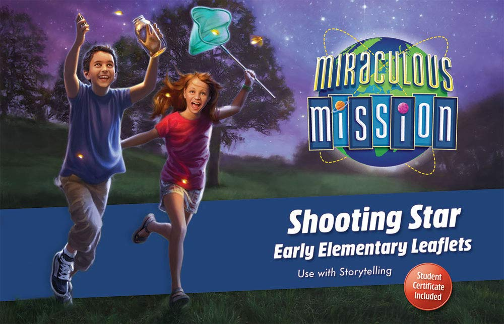 Concordia Publishing House Shooting Star Early Elementary Leaflets - Miraculous Mission VBS by CPH by Concordia Publishing House (Image #1)