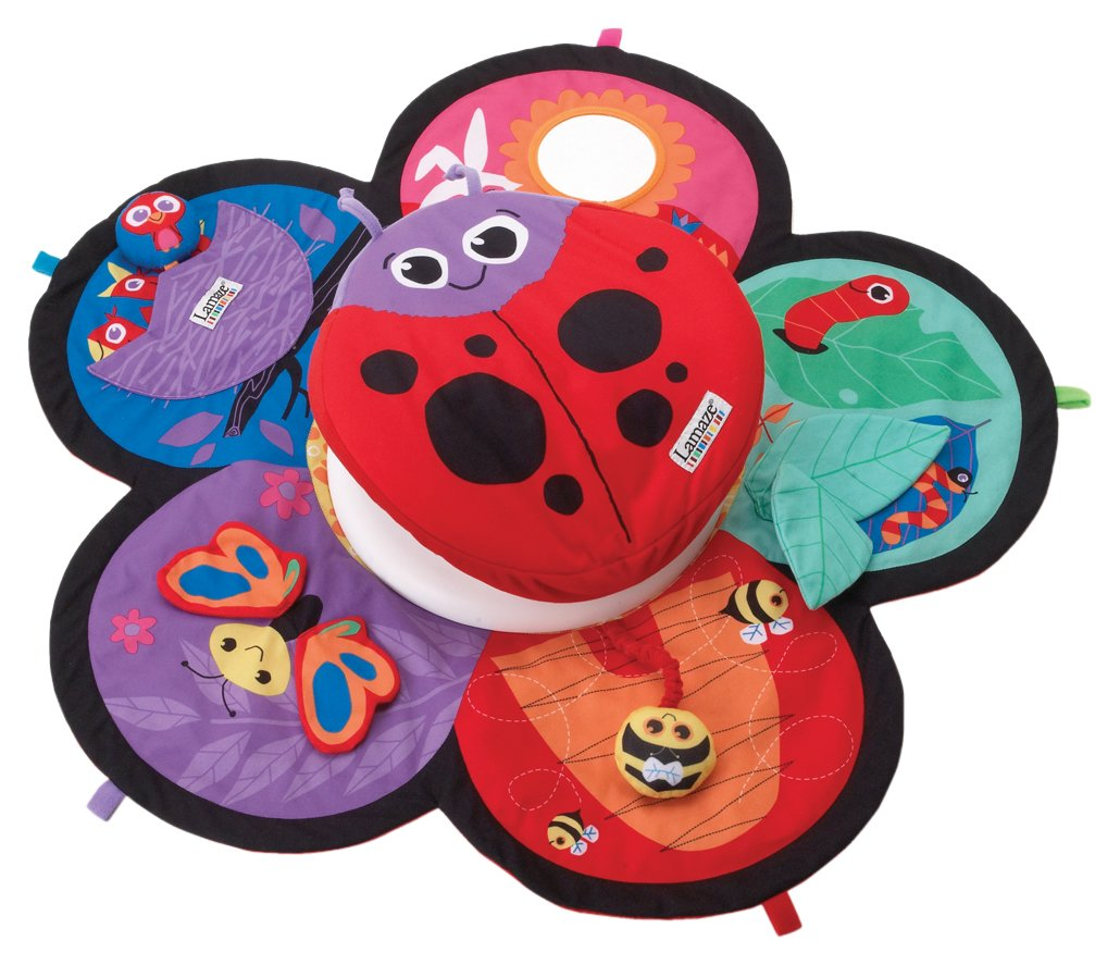 Lamaze Spin & Explore Garden Baby Gym Play Mat Learning Curve LC27100 B000I2MRHE