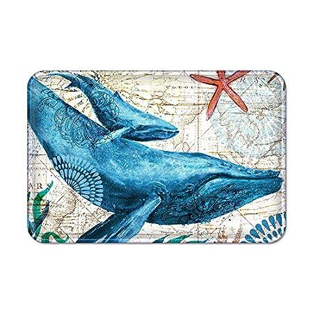 6153J4UQBoL._SS450_ Whale Rugs and Whale Area Rugs