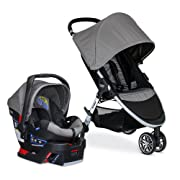 Britax 2017 B Agile & B Safe 35 Travel System, Steel