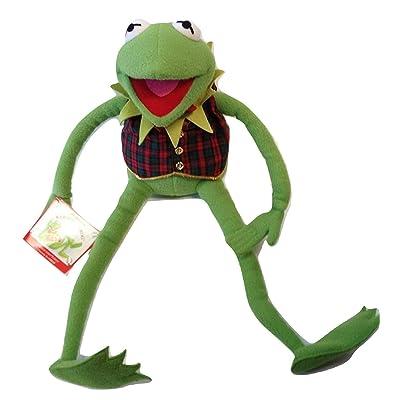 Kermit the Frog Plush Eden Edition for Macy's Plaid Vest: Toys & Games