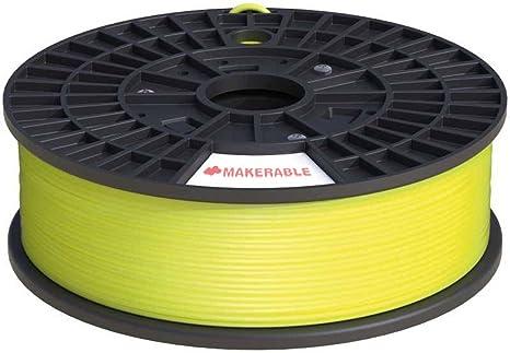 Cable de Filamento Para PLA-Impresora 3D 3 mm, 1 KG de Alta ...