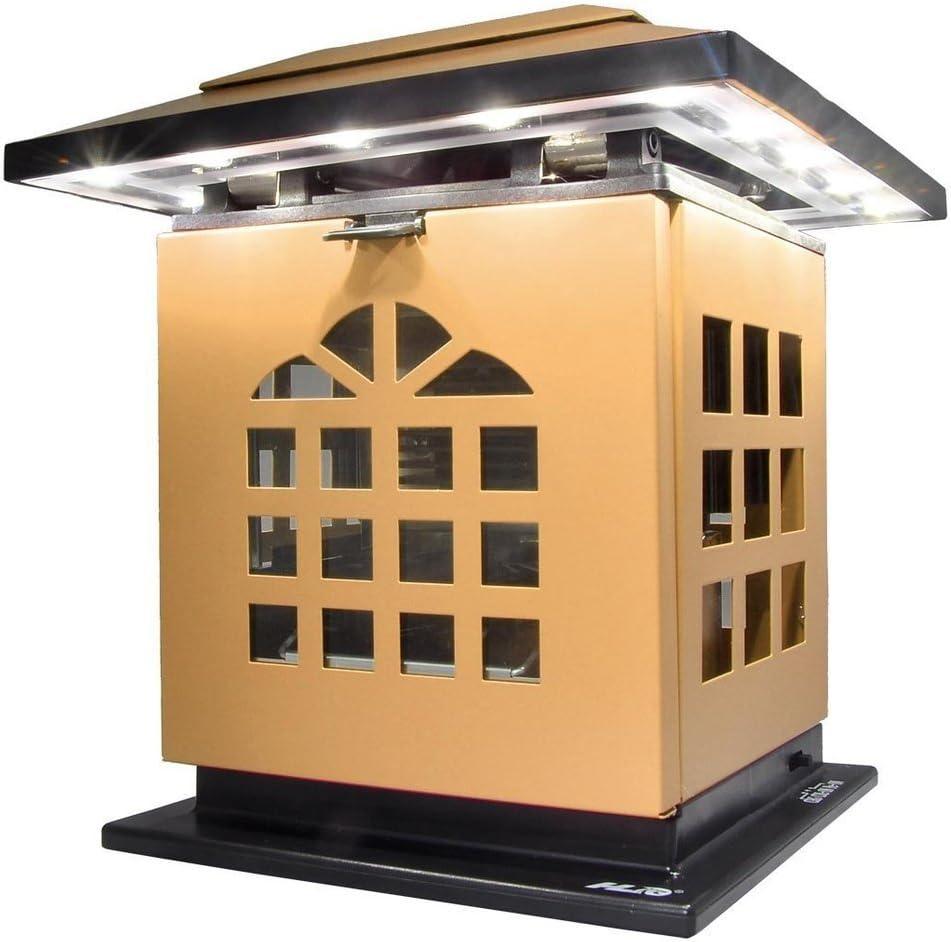 HLC Con sola una vela puede encender la Lámpara LED de Escritorio Con USB, trae pila de carga, puede usar dondequiera Ideal para actividades exteriores,color amarillo.: Amazon.es: Hogar
