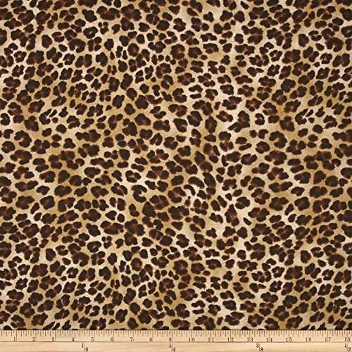 Premier Prints Amazon Leopard Sand Fabric By The Yard