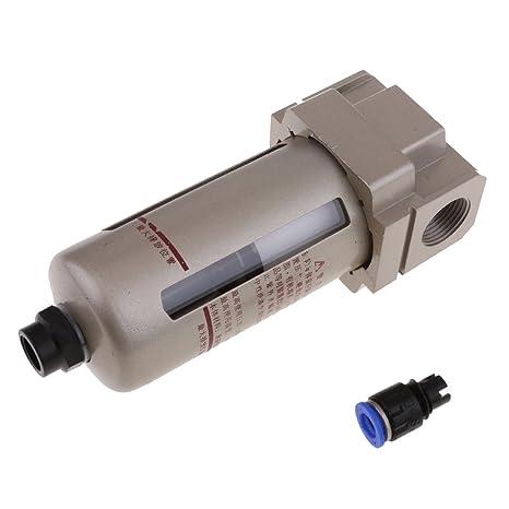 Homyl Compresor de Aire Neumático Af4000-06d 1/4 válvula Reguladora de filtro de aire PT: Amazon.es: Coche y moto