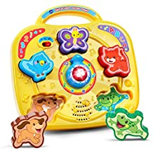 VTech 80-189400 Spin and Learn Animal Puzzle Toy