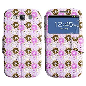 LEOCASE flor linda Funda Carcasa Cuero Tapa Case Para Samsung Galaxy S3 I9300 No.1006604