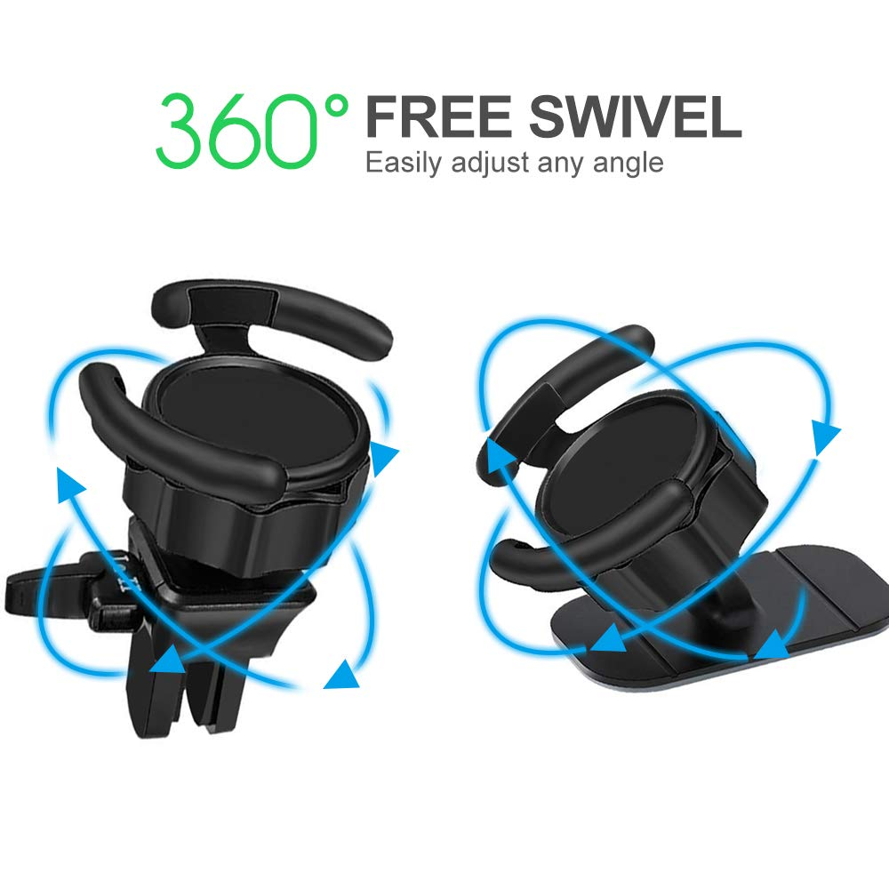 Air Vent POP Car Mount Easier GPS Navigation and Calling 360 Degree Rotation -BossBlue Compatible with Pop Users