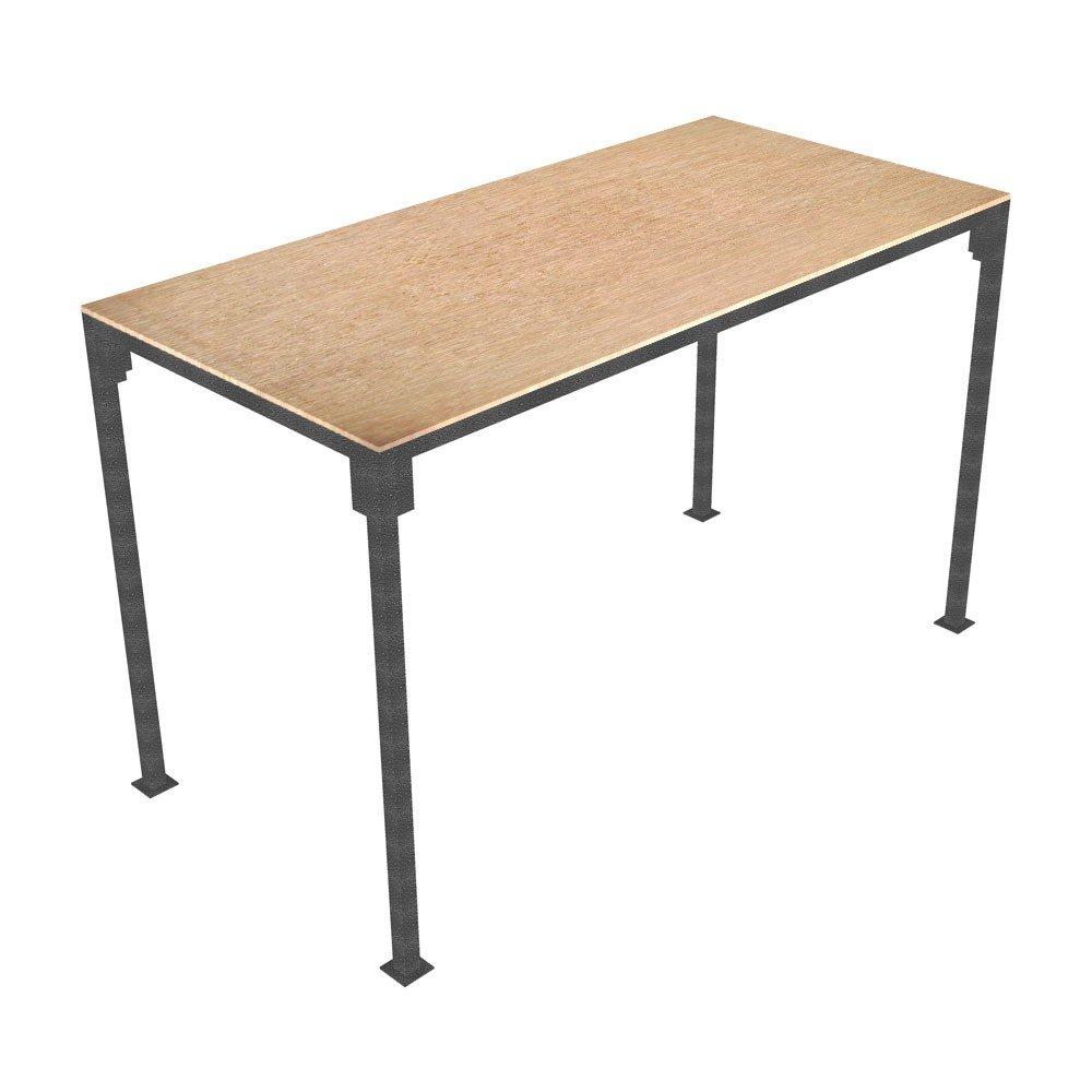 Kleines Tragbarer Tisch Slot zusammen Holzbock Markt Stall ...