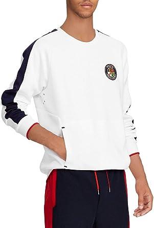Polo Ralph Lauren Sudadera Escudo Blanco Hombre XL Blanco ...