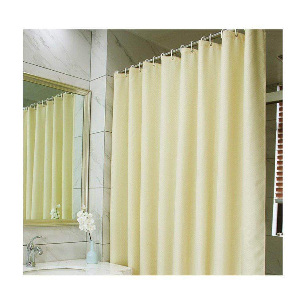 CASACLAUSI Shower Curtain Liner Bathroom Peva Mildew Resistant White Eco-Friendly 70x70 Inch