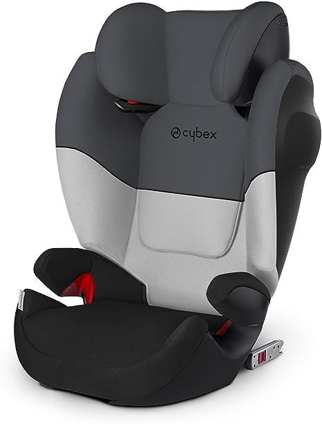 Cybex Silla de coche grupo 2/3, Solution M-Fix SL, Para coches con y sin Isofix, Grupo 2/3 (15-36 kg), Desde los 3 hasta los 12 años, Gris (Gray Rabbit): Amazon.es: Bebé