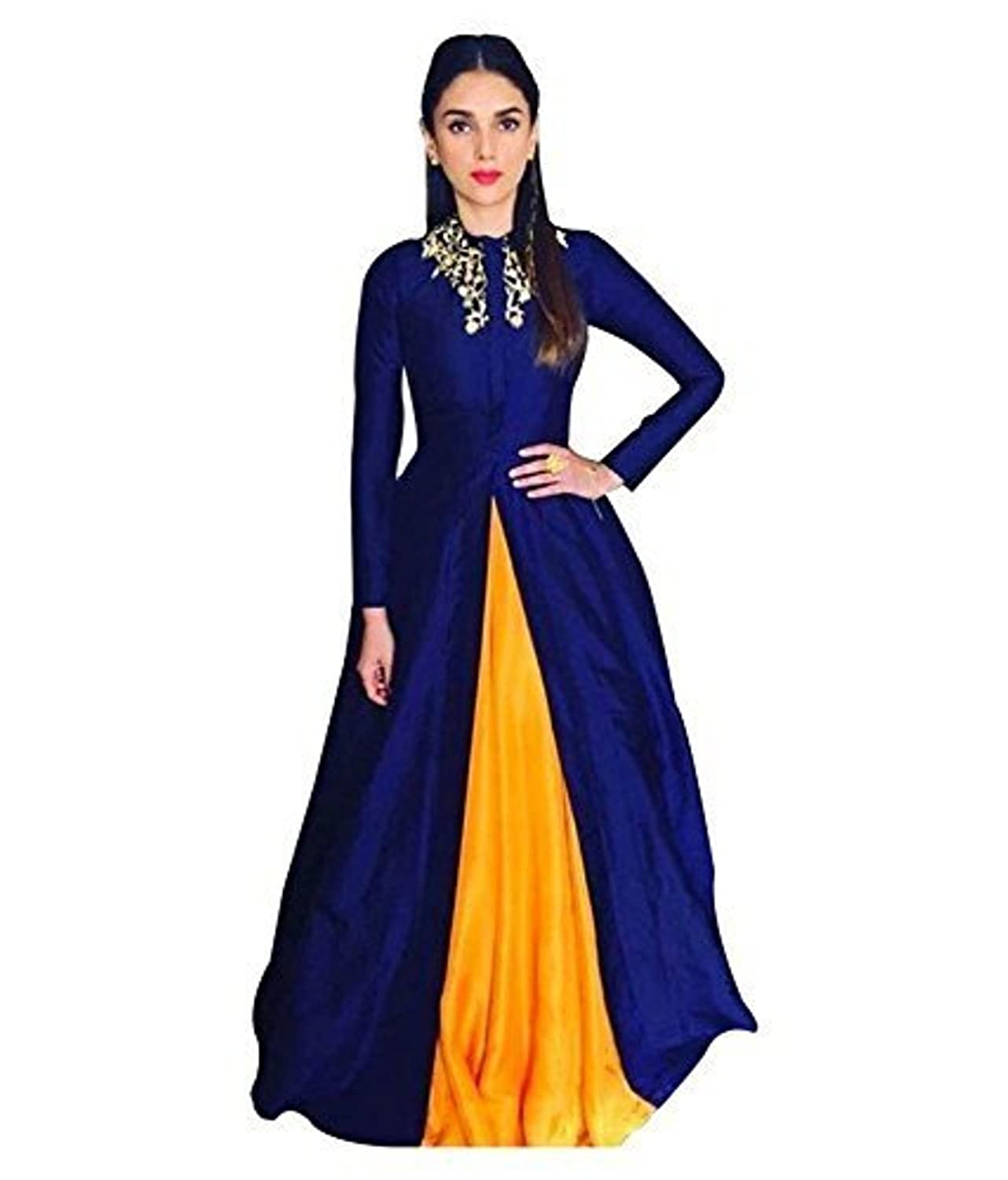 Millennium Users Women's Silk Blue Dress Material ( Liril ) tha great indian sell GY
