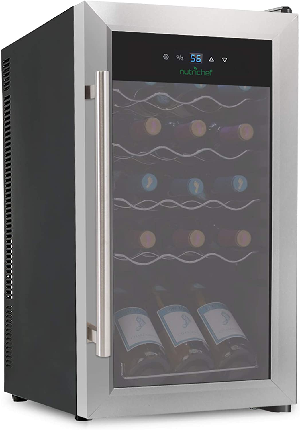 7. Nutrichef 15 Bottle Wine Cooler