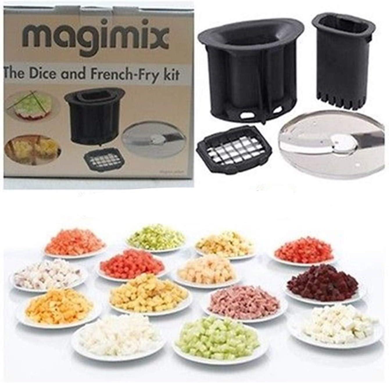 Magimix 17639 batidora y accesorio para mezclar alimentos - Accesorio procesador de alimentos Negro, Color blanco: Amazon.es: Hogar