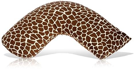 Amazon.com : Luna Lullaby Bosom Baby Nursing Pillow, Chocolate Dot ...
