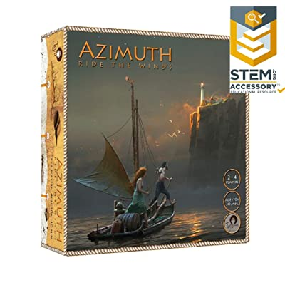 Tyto Games Azimuth: Ride The Winds, 2-4 Player Strategy Boardgame with Co-op Game Play: Toys & Games [5Bkhe1106072]