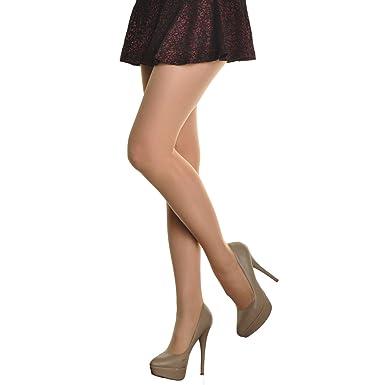 c377147d9b2 Angelina Sheer Nylon Spandex Pantyhose (pack of 6 pairs) at Amazon Women s  Clothing store
