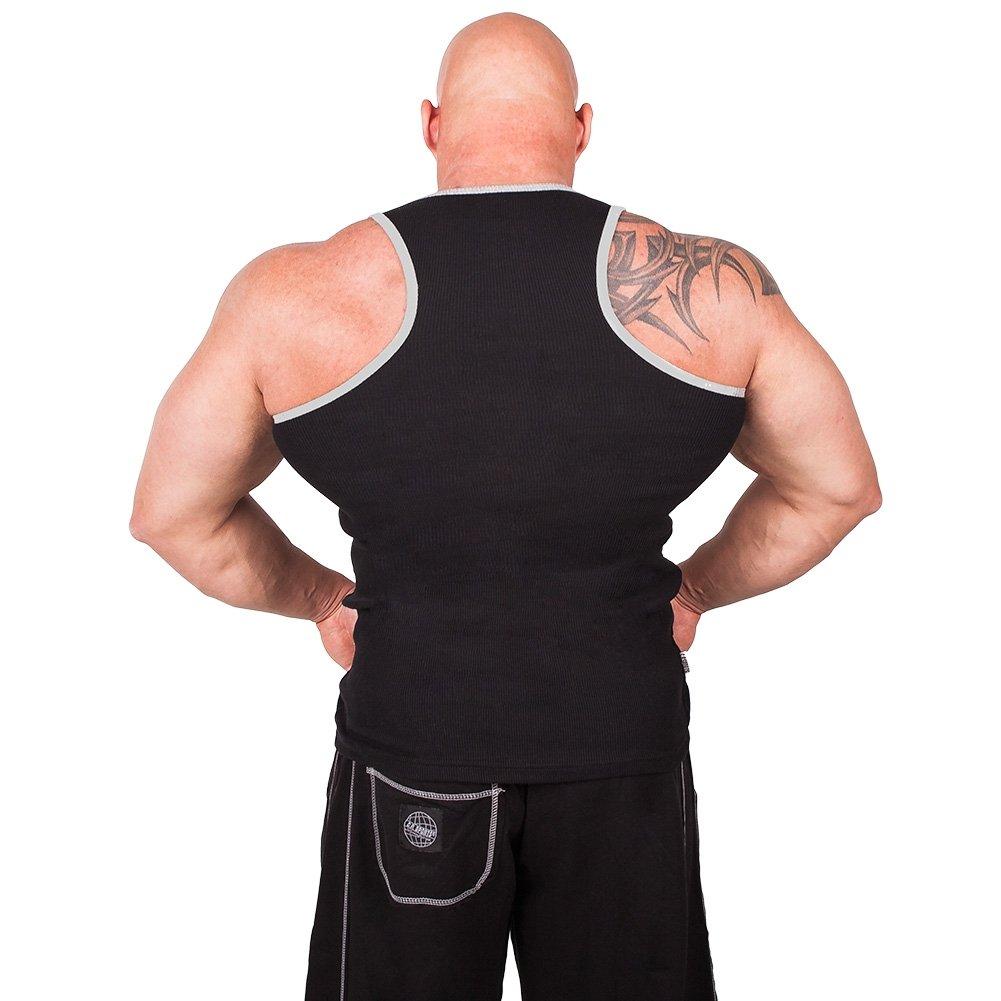 Tank Top Sports Rib Tank-Top Bodybuilding /& Kraftsport Fitness Shirt C.P Trainings T-Shirt Muskelshirt