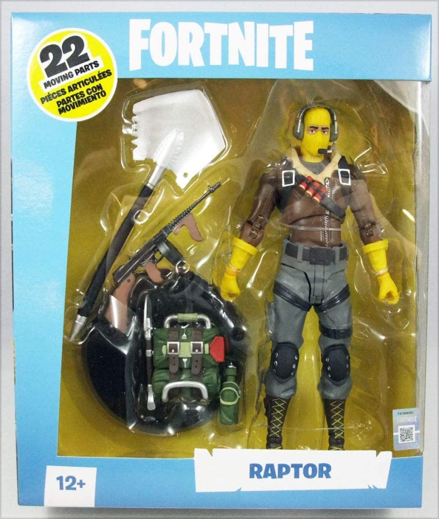 Fortnite-Raptor figurine par McFarlane