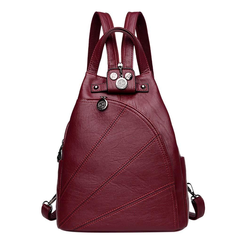 Shoulder Bags for Women Ladies Fashion Retro Travel School Shoulder Tote Handbag Backpack Bags Crossbody Bag On Sale